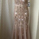 Платье вечернее в пол Adrianna Papell р.46 7639