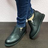 Женские ботинки есть такие и со шнуровкой одни на выбор