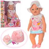 Полнофункциональный пупс Baby born, в тапочках, все функции