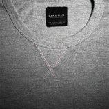 Мужская кофта серая фактурная Zara Man S M