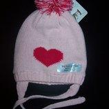 шапка на флисе Lupilu на рост 80-92