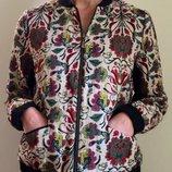 Бомбер скидка -200грн вышитая куртка Promod