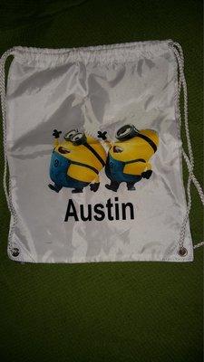 Модный рюкзак с миньонами.