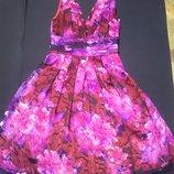 Платье женское подросток , жаккард шифон, рS 38-40