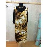Изумительное Шикарное Вечернее Платье Для Пышной Красы р-р 66