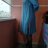 Восточный стиль платье с серебристой вышивкой впереди платья 16 размера