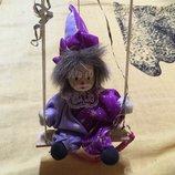 Рождественский звездочёт декоративная кукла фарфор
