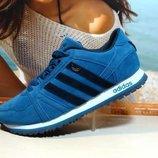 Кроссовки мужские Adidas синие 41р-46р