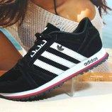 Кроссовки мужские Adidas черные 41р-46р
