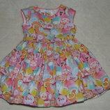 платье нарядное 1-2года большой выбор одежды 1-16лет