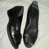 Балетки кожаные 40-41 размер