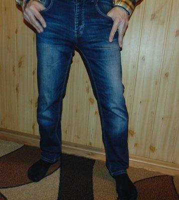 Брендовие стильние джинси брюки оригинал Easy л-хл 32-34 .