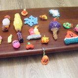 Маленькие елочные игрушки