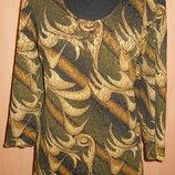 Платье из набивной ткани