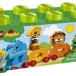 Lego Duplo Мои первые животные на колесиках 10863 My First My First Animal Brick Box