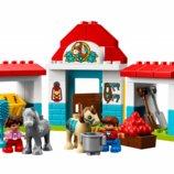 Lego Duplo Конюшня на ферме 10868 Farm Pony Stable