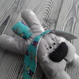 мягкая игрушка собачка из ткани