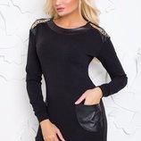 Шикарное, тепленькое платье- туника Ума размер S-M от Vision.
