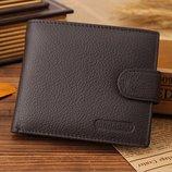 Подарок мужу на новый год портмоне кошелек 100% кожа
