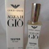 Giorgio Armani Acqua Di Gio Men тестер 60 мл для мужчин