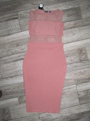 Красивенное бандажное платье Boohoo UK р. 10