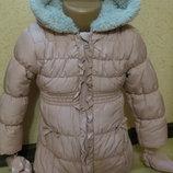 теплая куртка George 3-4года