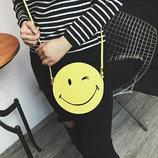 Милая сумочка смайл, улыбка В наличии