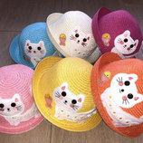 Красивые детские шляпки с кошечкой