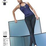 Леггинсы Luisa Bas Bleu со стильными штрипками в цвете индиго и размере L