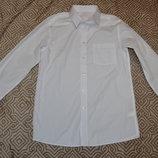 новая белая рубашка мальчику TU на 13 лет рост 158 Англия