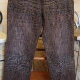 джинсы коричневые Soul Paris Размер M 50%эластик, 50%полиэстер
