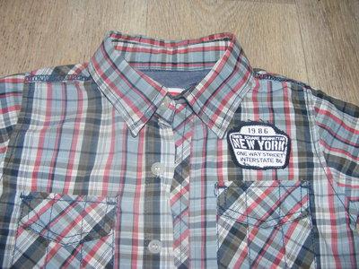 стильная рубашка-100 коттон от Name it