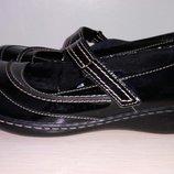 Clarks туфли 38-39 р по ст 25.5 см кожа