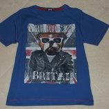 футболка мальчику 6 - 7 лет хб сток большой выбор одежды 0 -16 лет