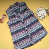 Тоненькая рубашка блузка Musthave, р.М
