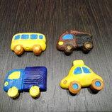 Гипсовые мини машинки или 3D раскраска