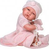Кукла виниловая Toquilla Nina, 42 см., Antonio Juan 5064, Тони, Нина, реборн