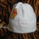 Супер шапочка tu ,3-6 мес.беленькая.