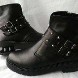 Женские демисезонные ботинки 36-41р.