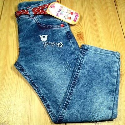 b0cd38f42899832 Детские джинсы для девочки рр. 98-122 Цветы Beebaby Бибеби. Previous Next