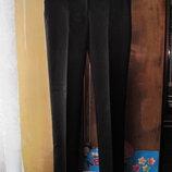 классические тонкие брюки 42-44 р., черные брюки S,M, продажа или обмен