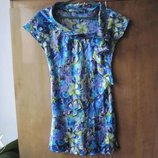 летняя блузка 42-44 р., летняя туника S,M , продажа или обмен