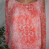 Шифоновая блуза с принтом f&f