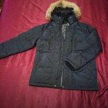 Пуховик мужской Black Vinyl, куртка мужская зимняя. Мужская одежда.