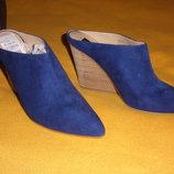 Туфли кожа нат. замш Сша р. 37 Steve Madden