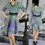 Супер Модное Для Стильной Барышни Платье Техно Размер С-Ка