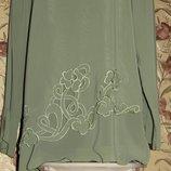 Роскошь Блузон Блуза Для Роскошных Дам