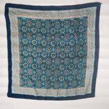 Восхитительный платок из 100% натурального шелка 80 80 см Италия