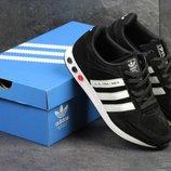 Кроссовки мужские Adidas L A Trainer black/white