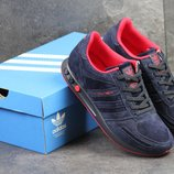 Кроссовки мужские Adidas L A Trainer blue/red